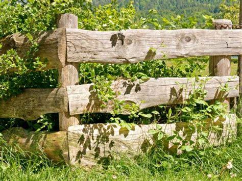 aménagement chambre à coucher cloture jardin bois pour un extérieur tout naturel