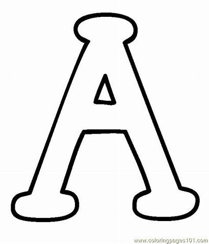 Printable Alphabet Coloring Pages Letters Capital Uppercase