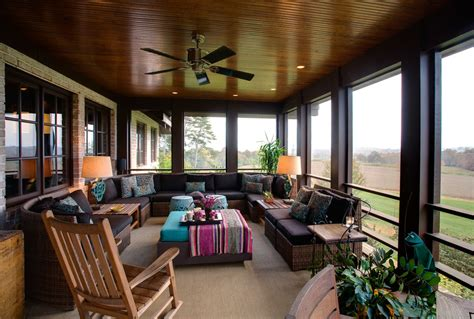 Backporchfurnitureporchcontemporarywithbackyard