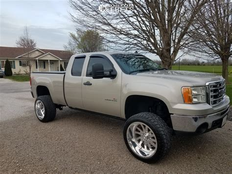 gmc sierra  american force octane ss rough country suspension lift