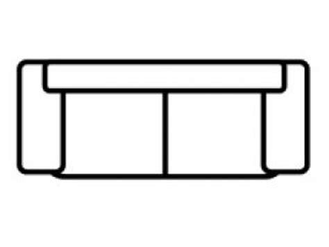 comment dessiner un canapé photos canapé vue de dessus