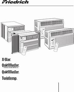 Friedrich Air Conditioner 2008 User Guide