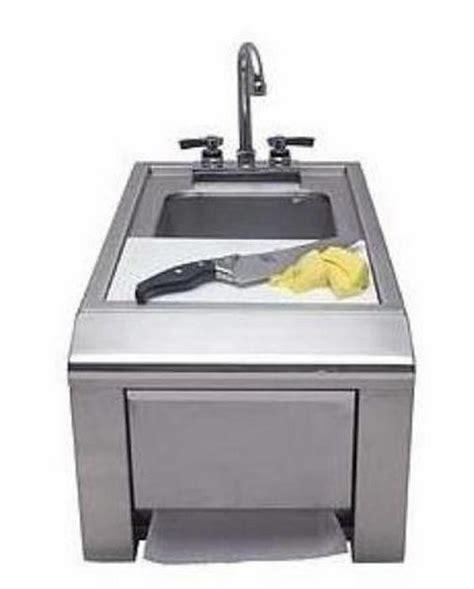 outdoor kitchen with sink outdoor kitchen sink helps the spiffy steak master elite 3875