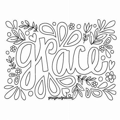 Grace Coloring Amazing Boys Printable Through Choices