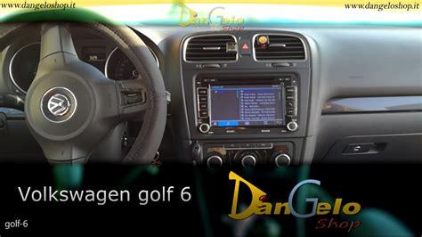 radio golf 6 volk wagon poste radio volkswagen golf 6