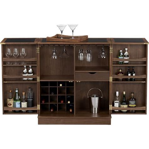 crate and barrel maxine bar cabinet maxine bar cabinet