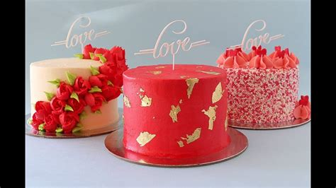 Mini Valentine's Day Themed Cakes- Rosie's Dessert Spot ...