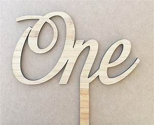 Cake Topper - Written Numbers in a cursive font – grain&co