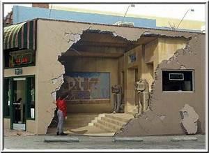 Trompe L Oeil Mur : mur cass trompe l 39 oeil en californie banque d 39 images en rapport avec le tableau street ~ Dode.kayakingforconservation.com Idées de Décoration