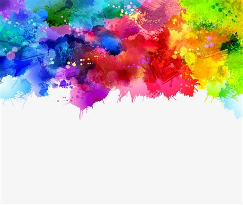 Paint Background Graffiti Vector Background Gorgeous Watercolor Vector