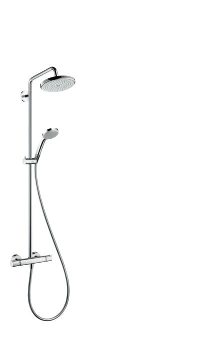 hansgrohe shower pipes croma 1 spray mode 27185000