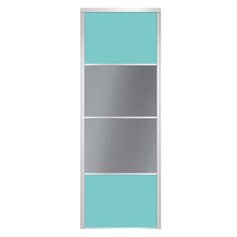 porte coulissante 60 cm porte de placard coulissante sur mesure spaceo alliance de 40 224 60 cm leroy merlin