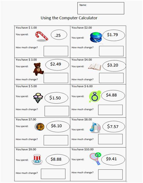change worksheets 3rd grade worksheets for all