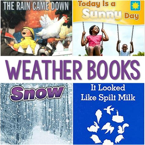 weather books for preschoolers pre k pages 828 | Weather Books for Preschool