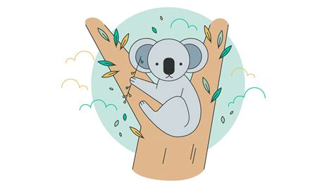 koala  vector art   downloads