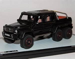Pick Up Mercedes Amg : glm amg mercedes benz w463 g63 6x6 pick up black 1 43 resine ~ Melissatoandfro.com Idées de Décoration