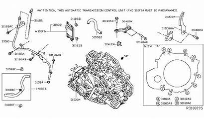 Infiniti Nissan Automatic Transaxle Transmission Diagram Qx60