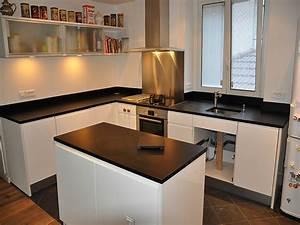 Prix Plan De Travail Cuisine : plan de travail en quartz pour cuisine plan de travail en ~ Premium-room.com Idées de Décoration