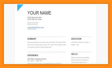 Drive Resume Template by 12 13 Resume Template On Drive Lascazuelasphilly