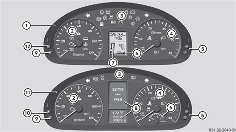 mercedes dashboard symbols mercedes sprinter warning light symbols