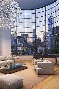 Wohnen In New York : livingpursuit penthouse in new york interior design pinterest ~ Markanthonyermac.com Haus und Dekorationen