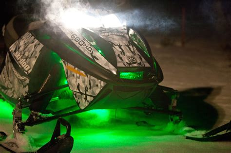 led lights for snowmobile customize that ride custom led light kits