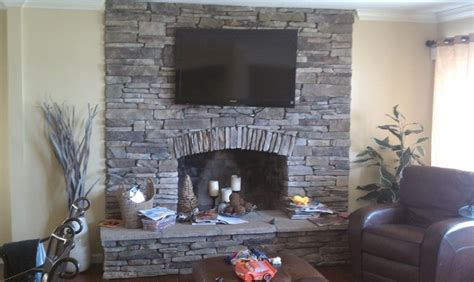 Southern Living Family Rooms by Boral Cultured Stone Southern Ledgestone Traditional