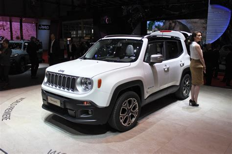 jeep vehicles 2015 2015 jeep renegade tiniest jeep yet unveiled in geneva
