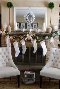 christmas mantle decorations furnish burnish