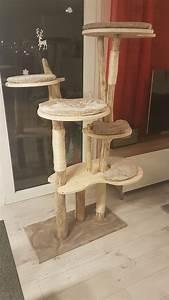 Arbre A Chat En Palette : arbre chat maison en bois flott diy homemade wooden cat tree cat tastic cats dog cat pets ~ Melissatoandfro.com Idées de Décoration