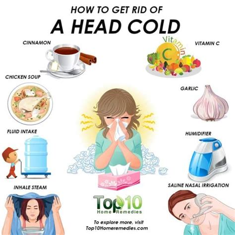 rid   head cold top  home remedies
