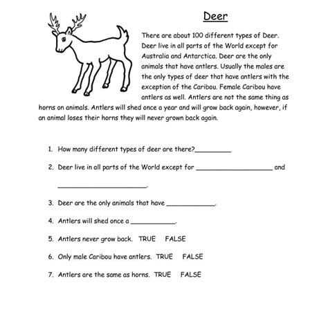 reading comprehension worksheets for 2nd grade and reading