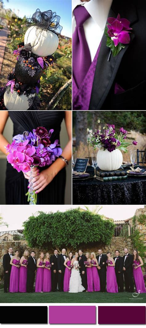 five awesome fall wedding colors in shades of black elegantweddinginvites com blog