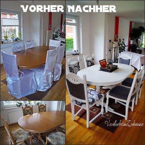 Alte Stühle Neu Lackieren by Tisch Und Alte St 252 Hle Neu Gestalten Und Versch 246 Neren