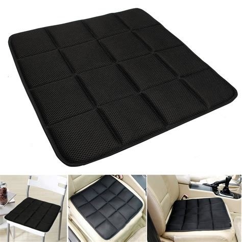 bamboo charcoal breathable seat cushion cover pad mat for