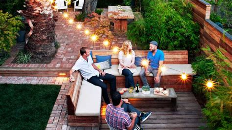 We love to do that. 11 Ways to Decorate with Outdoor String Lights - SFGate