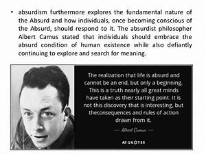 Absurdism and theatre