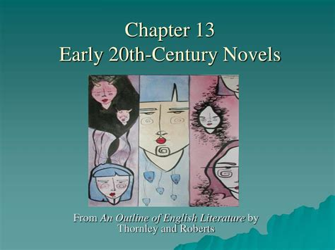 chapter  early  century novels powerpoint