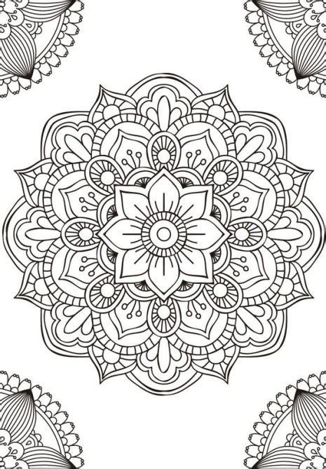 las mejores mandalas en blanco  negro  colorear imagenes  whatsapp