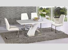 white high gloss dining table full white high gloss glass