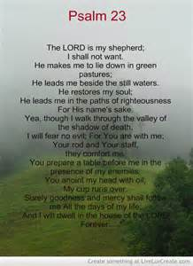 Lord Is My Shepherd Quotes