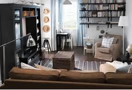Living Room Inspiration Ideas by 2011 IKEA Living Room Design Ideas