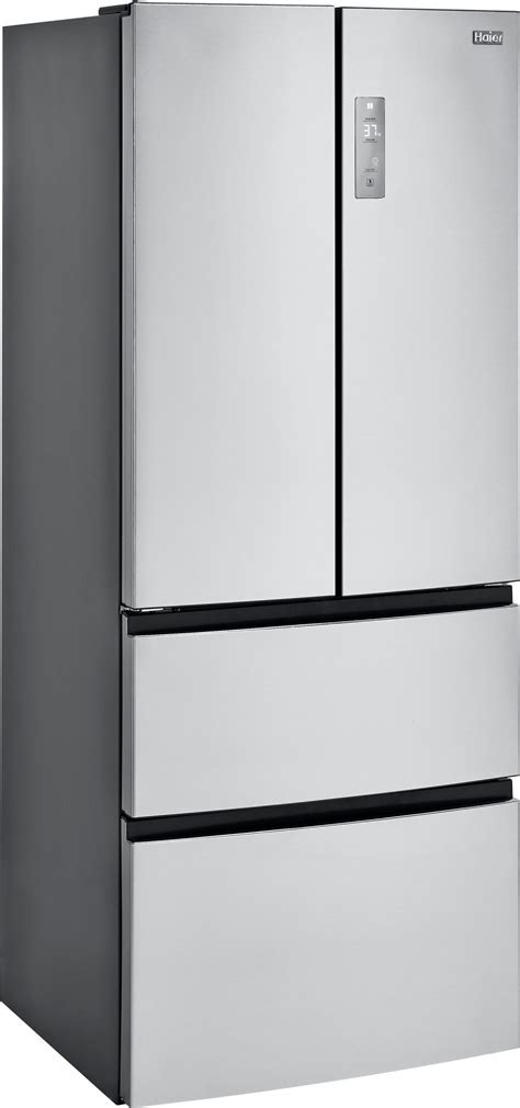"""HRF15N3AGS   Haier 28"""" 15 cu. ft. French Door Refrigerator"""