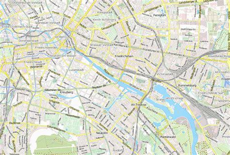 Karte Berlin Mit Mauer