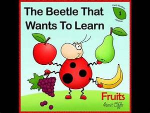 children books - learning english first words - fruits ...