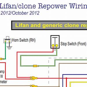 Honda Ct70 Lifan  U0026clone Wiring Diagram W  Electric Starter