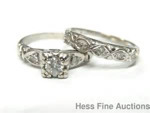 1950s wedding rings 44 best images about vintage engagement wedding rings on