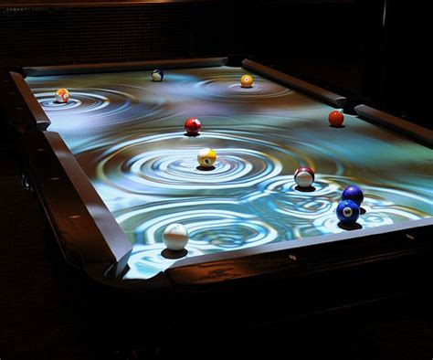 cuelight interactive pool table reacts  gameplay gearnova
