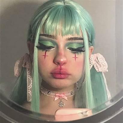 Makeup Mabel Doll Edgy Looks Selfie Grunge