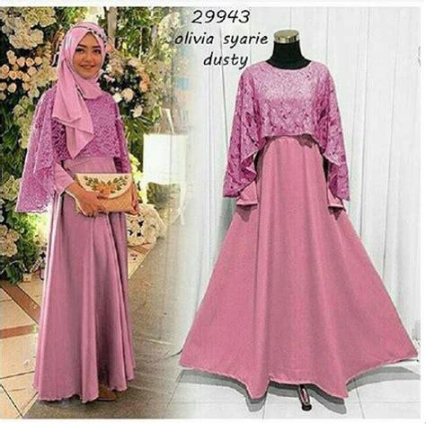 Dwina Cape Dress Baju Murah jual rsp syarie baju pesta cantik dress cape maxi